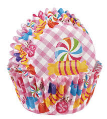Wilton Mini Cupcake Backing cups Candy