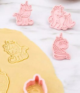 Unicorn Cookie cutter stamp