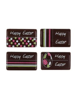 Chocolade Paas plaatje Happy easter