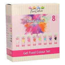 FUNCAKES EDIBLE FUNCOLOURS Gel Color Pack