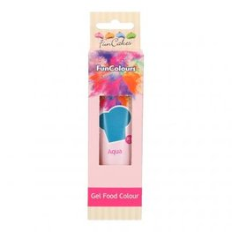 FUNCAKES EDIBLE FUNCOLOURS GEL - Aqua 30G