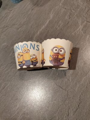 Minions harde Backing Cups