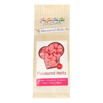 CHOCOLADE FLAVOURED MELTS Strawberry -250G-