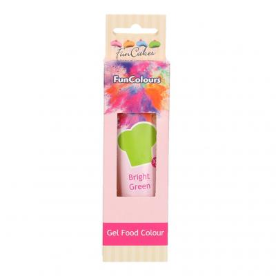 EDIBLE FUNCOLOURS GEL - Bright Green 30G