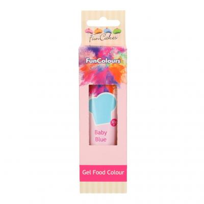 EDIBLE FUNCOLOURS GEL - baby blue 30G